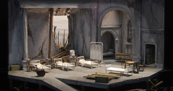 Macbeth set model. S - Macbeth set model. Set design by Vincent Mountain. University of Michigan --- #Theaterkompass #Theater #Theatre #Schauspiel #Tanztheater #Ballett #Oper #Musiktheater #Bühnenbau #Bühnenbild #Scénographie #Bühne #Stage #Set
