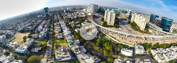 DLf phase 2 Arial shot by Vector photogaphy