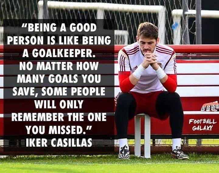 Iker Casillas..