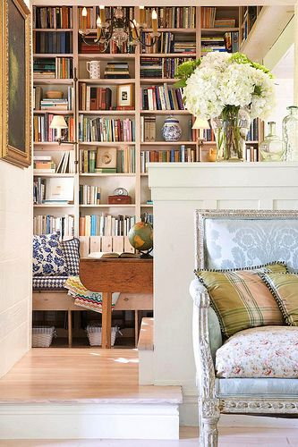 A home need books, and books need a home.