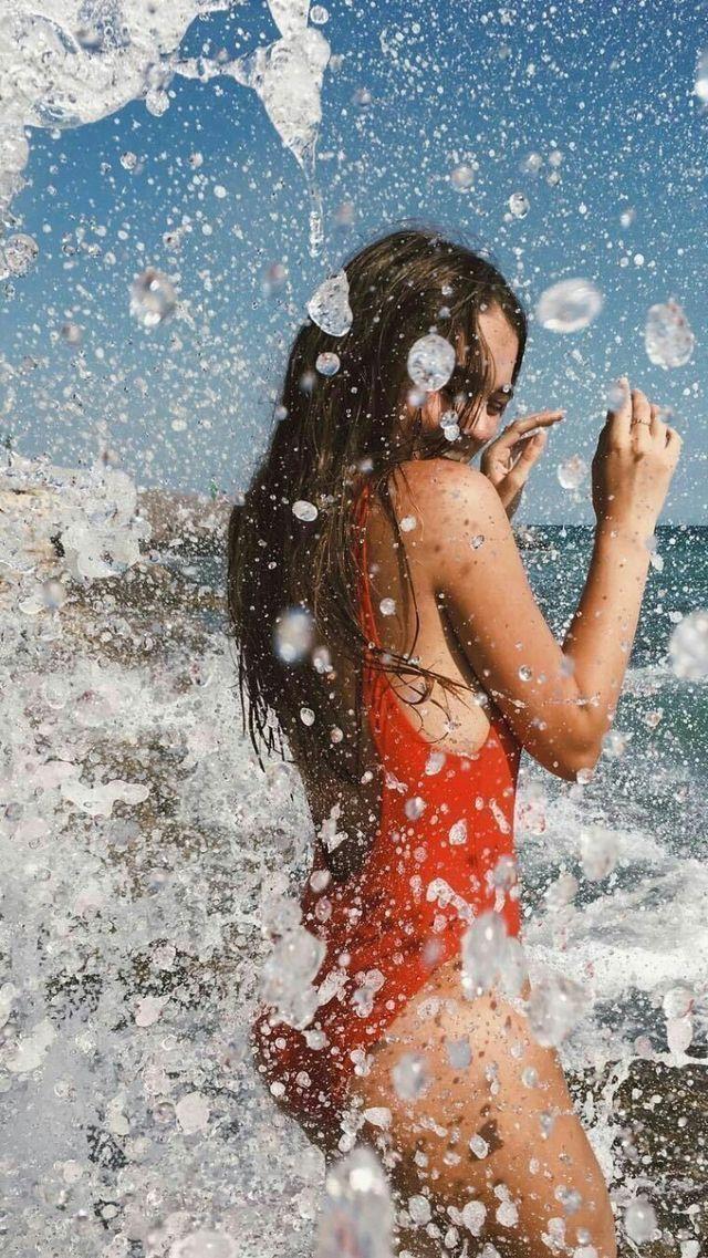 Strand Meer Fotografie Foto Idee Instagram Urlaub Urlaub Reise Fotografie Bikini… – Fee Schoenwald | Fototipps