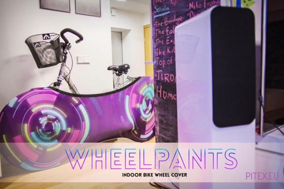 Wheelpants Wheel pants Bike cover Bicycle cover Clear by pitex
