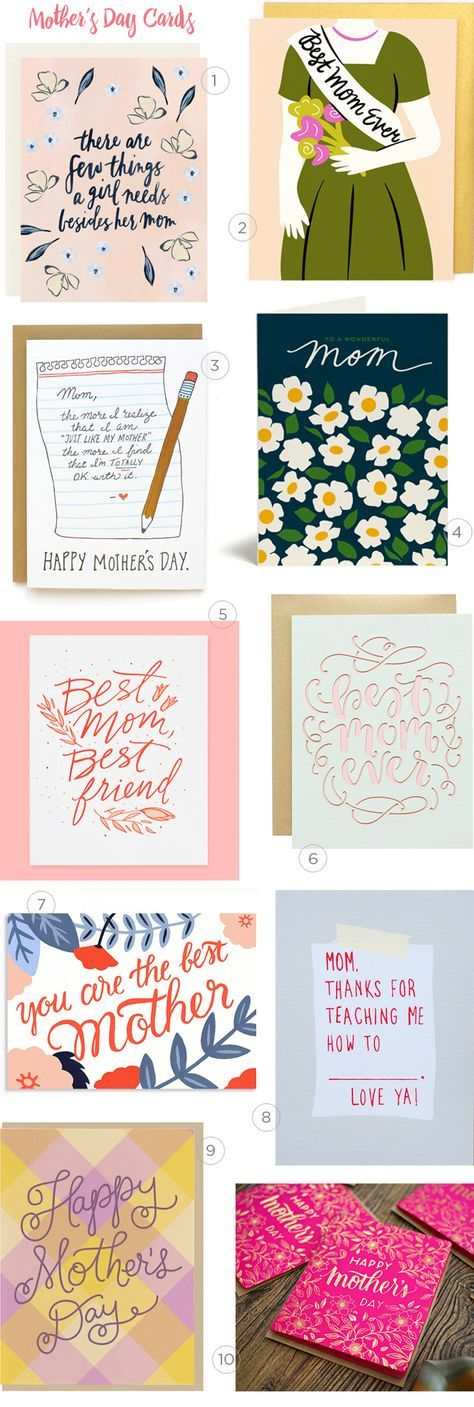 Mother's Day Card Round Up / Oh So Beautiful Paper
