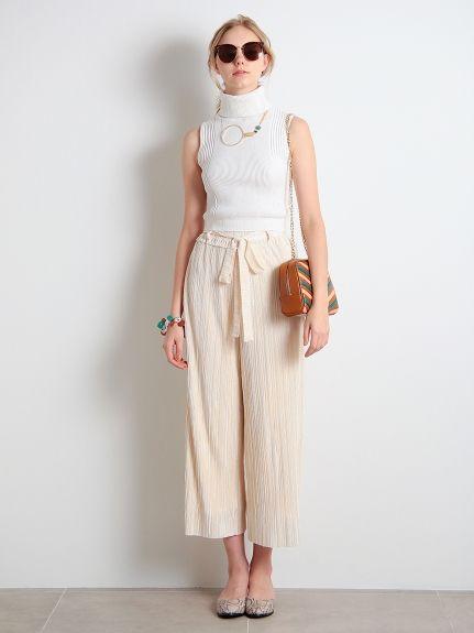夏に着たい白コーデ♡スカーチョコーデ♡スタイル・ファッションの参考に♪