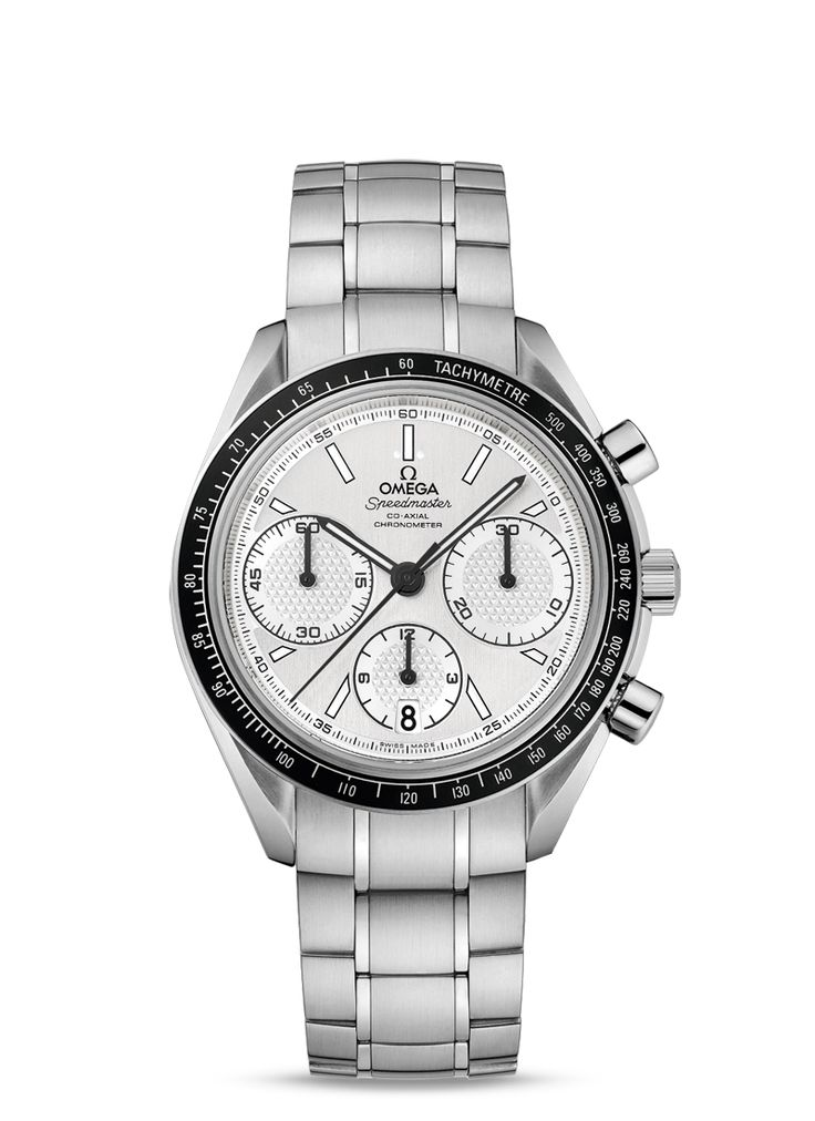 OMEGA Speedmaster  Racing Co-Axial Chronograph 40 mm Steel on steel 326.30.40.50.02.001