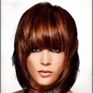 Auburn Hair Multidimensional With Highlights Light Brown