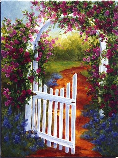 'The Open Gate' (don't know the artist's name, if you know please inform)