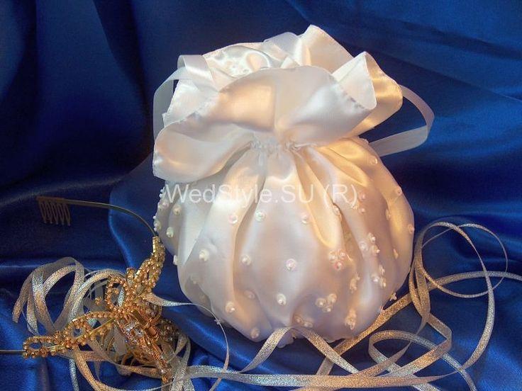 Свадебная сумочка Gilliann Россыпь блесток BAG275 #weddingbag #weddingclutch