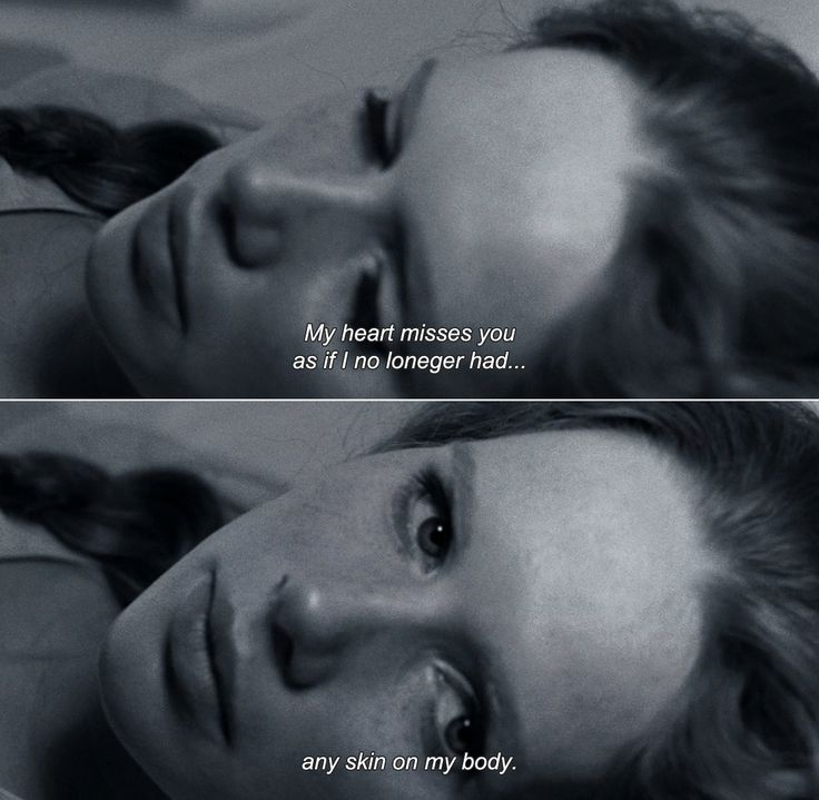 "Anamorphosis and Isolate — ― Liv & Ingmar (2012) ""My heart misses you as if I..."