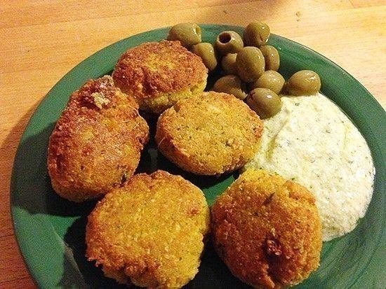 Falafel, polpette  sane per bambini