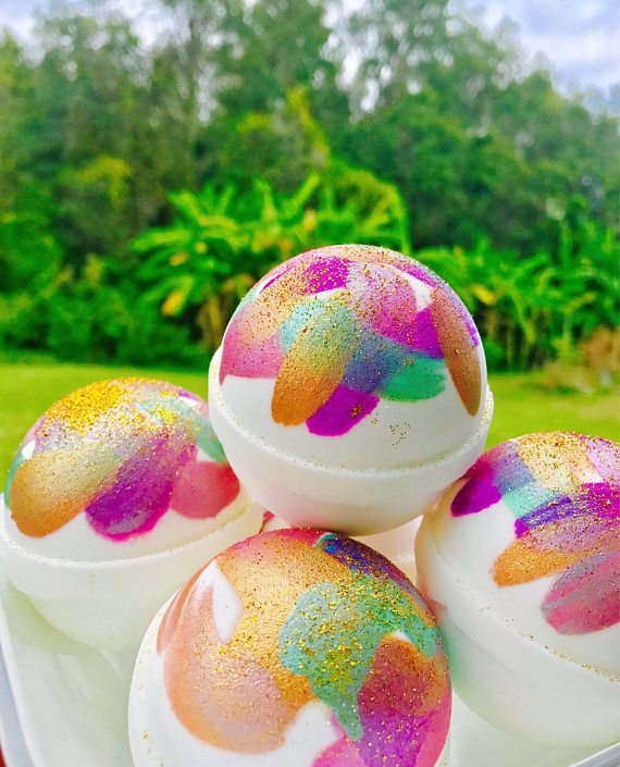 ❤ These Bath Bombs are made fresh when ordered ❤ ~This listing is for (1) bath bomb scented with an amazing blend of fragrance oils floral fruity powdery scents ~ Enjoy your Me Time and escape with one of these exotic bath bombs while it revitalize and nourishes your skin. ~When