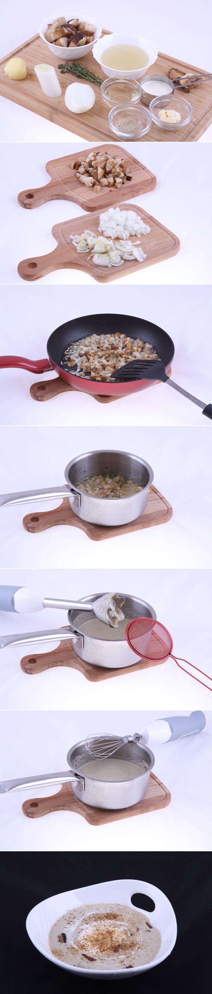 Суп капучино из белых грибов. Хочется чего-то необычного и изысканного? Есть простой рецепт французской кухни! Время приготовления всего лишь 25 минут. Полный список ингредиентов и способ приготовления блюда вы можете увидеть в...http://vk.com/dinnerday; http://instagram.com/dinnerday #dinnerday