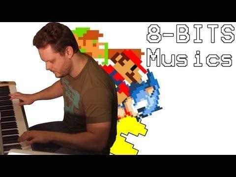 Pianista 8 bits - As melhores músicas 8 bits no sintetizador! - YouTube