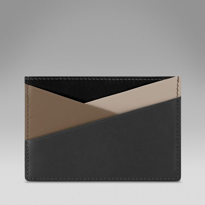 "SMYTHSON - Card Holder | Sophisticated and striking, the new ""Maddox Collection"" brings style and refinement together in this graphic selection of covetable accessories. Crafted in nappa lambskin, these stylish essentials are the perfect companions for summer and beyond. 