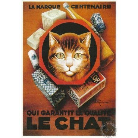 Carte Postale Savon Le Chat - Marseille