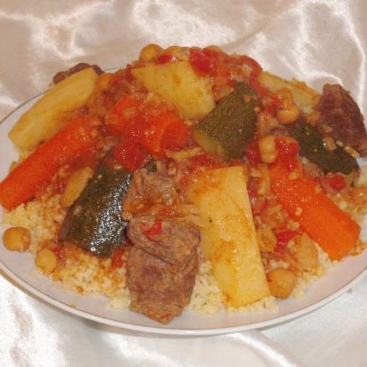 Traditional North African Couscous (The Real Way!)