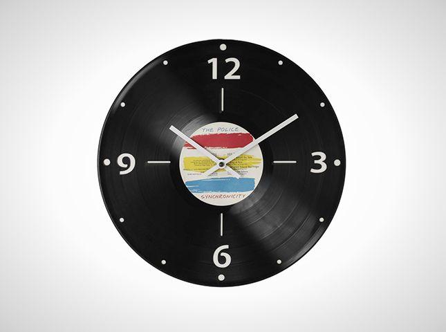 Custom Record Clock | 30 Wall Clocks
