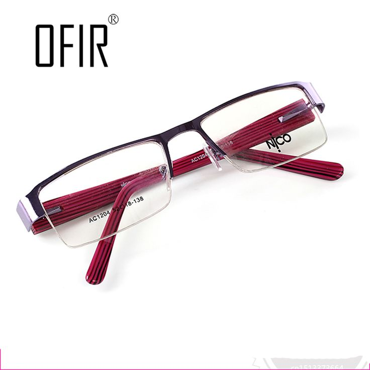 Women Optical Frame Metal  Brand Men's eye Glasses  Lenses Computer Myopia Glasses Frame High Quality  Different Style AC/CA-5
