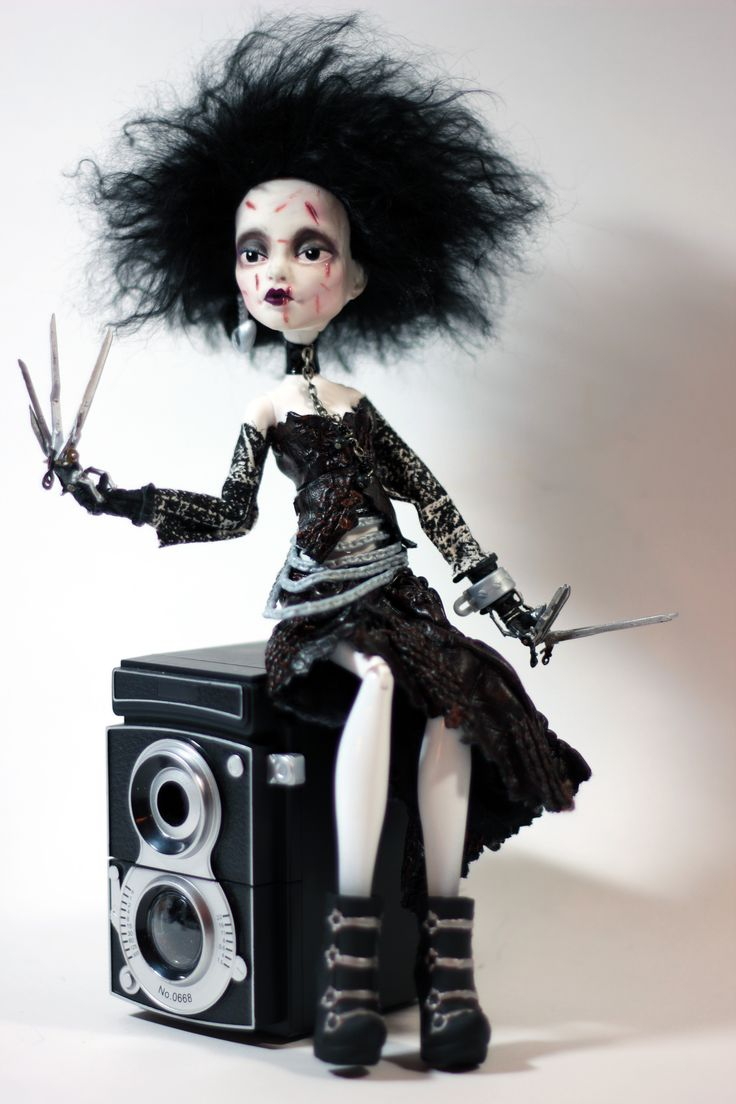 """""""Edwina Scissorhands - Redux Thrice"""" by Refabrications - (to be featured in the 2013 Halloween edition of Designer Dolls Magazine)"""