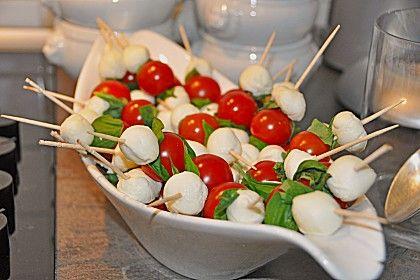 Tomate - Mozzarella - Sticks (Rezept mit Bild) von daWomb | Chefkoch.de