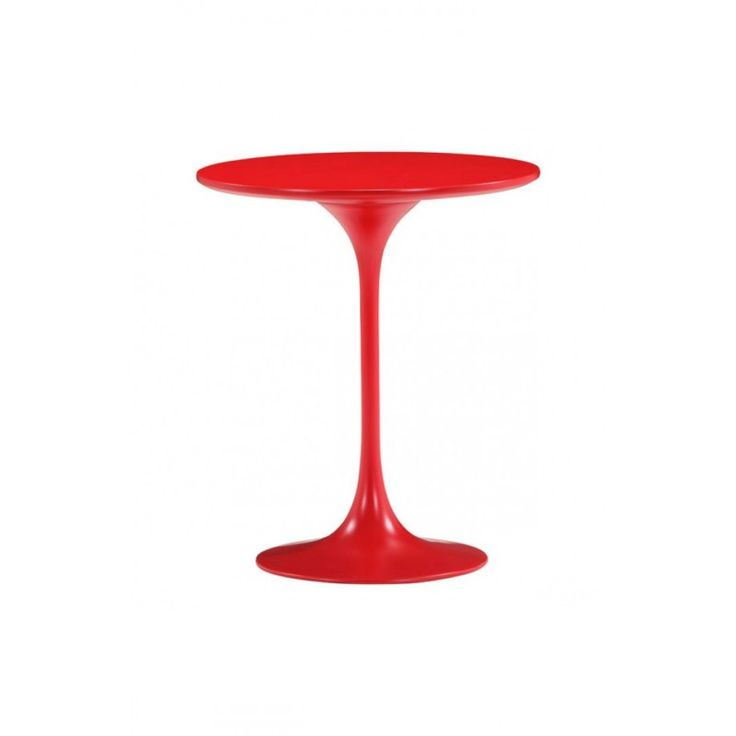 A Classical Red Side Table Comes From Https://www.studio9furniture.com