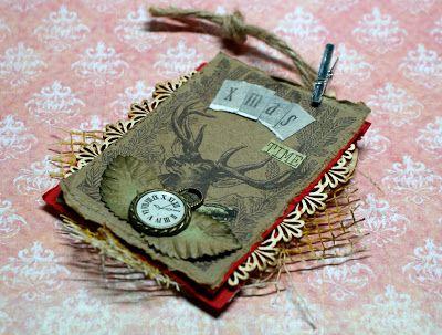 Retro, Vintage Scrapbooking, Scrapbook, Handmade, Steampunk , DIY