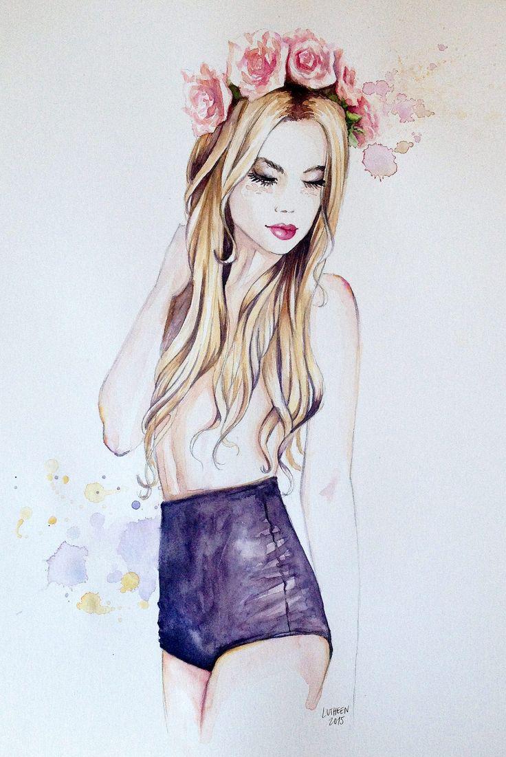 Lutheen - Glamour https://www.facebook.com/lutheen.illustration/