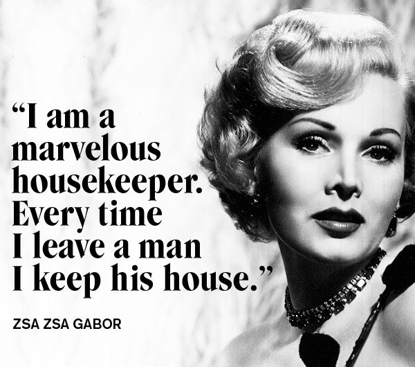 Zsa Zsa Gabor Quotes: 95 Best Divorce Quotes Images On Pinterest