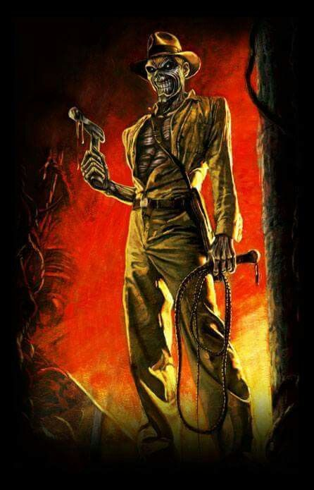 Indiana Jones - Eddie - Iron Maiden http://www.pinterest.com/TheHitman14/eddie-of-iron-maiden-fame/