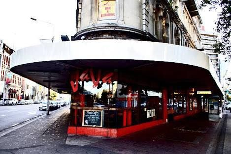 Java Cafe, Regal Pool Hall was upstairs, Christchurch, New Zealand Photo TJ Newman.