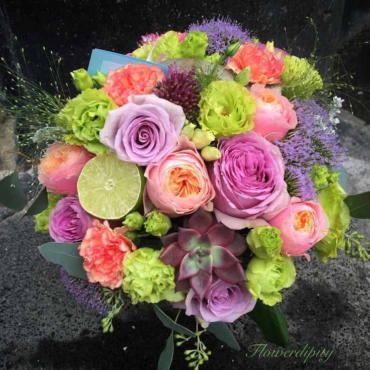 Flowerdipity lime #elegant #fresh #flowers #lime #colorful