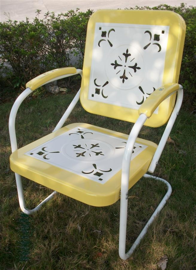 19 Best Images About Vintage Metal Bouncy Chairs And Patio