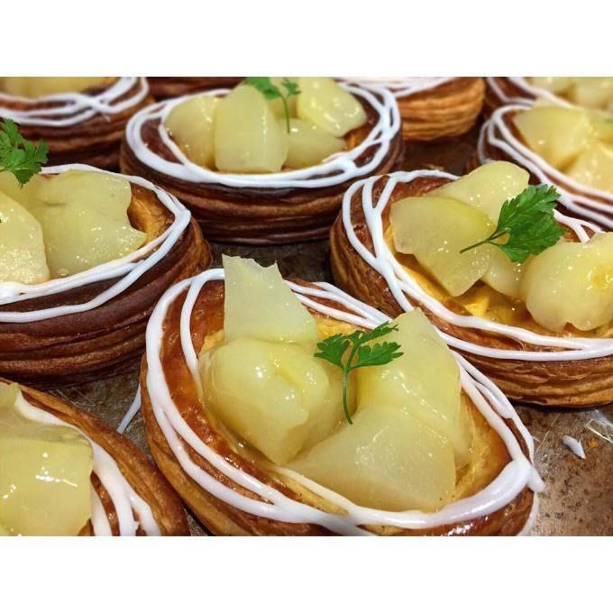 オパンのラフランスのデニッシュ(2016.11.04) | OPAN オパン|東京 笹塚のパン屋