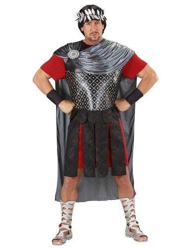 Disfraz de emperador romano. Disponible en www.vegaoo.es