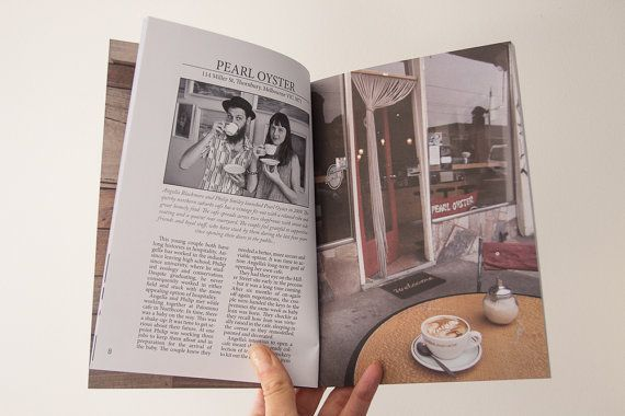 Espresso Tales Magazine Volume 1 a by EspressoTalesMag on Etsy (Pearl Oyster Cafe in Melbourne) #coffee #cafes #Melbourne #magazine #publishing #Photography