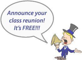 Class Reunion Announcements - High School Reunions