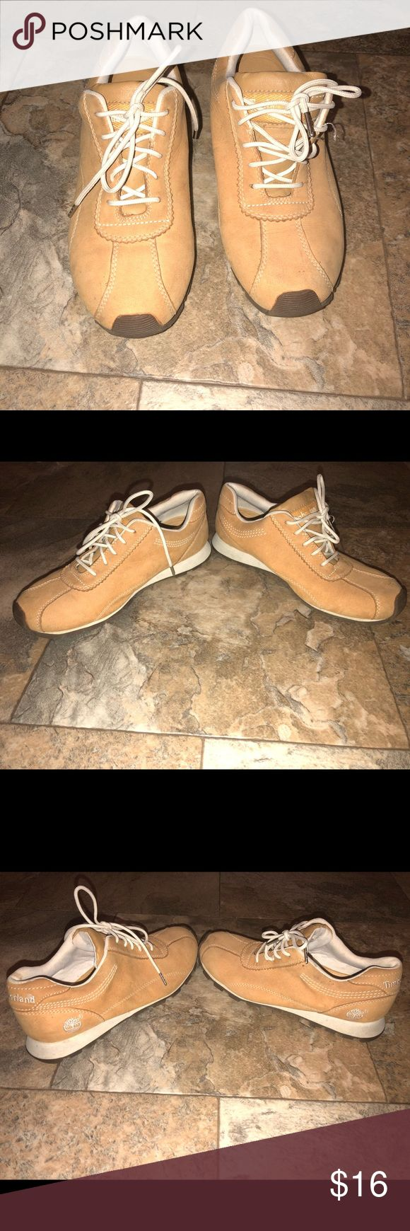 Timberland Sneakers Euc Size 6 Timberland Sneakers Euc Size 6 minor wear/ marks shown in pictures Timberland Shoes Sneakers