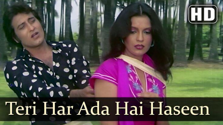 Teri Har Ada Hai Haseen - Vinod Khanna - Zeenat Aman - Daulat - Bollywoo...