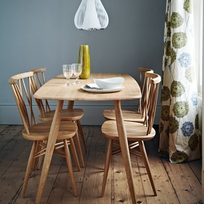 ercol for John Lewis chiltern Dining Room Furniture, Natural