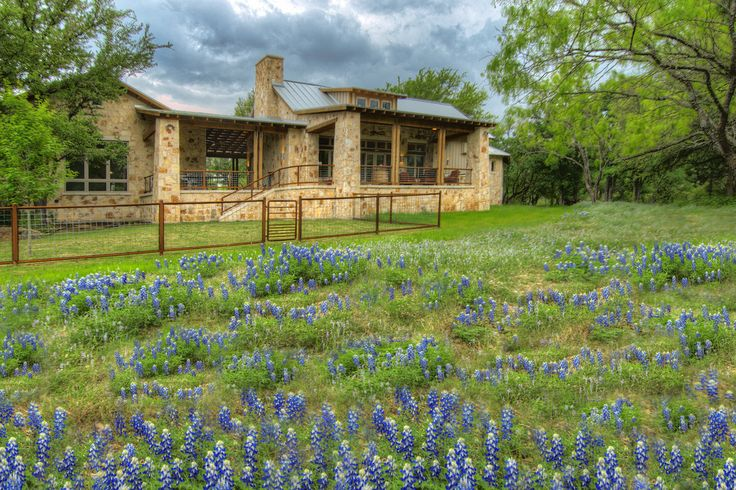 25 great ideas about ranch house exteriors on pinterest for Texas hill country builders