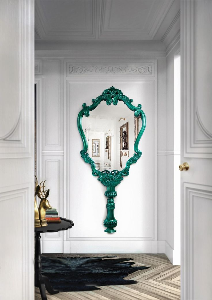 Marie Thérèse Wall Mirror by Boca do Lobo | Marie-Thérèse, the eldest daughter of Marie Antoinette, and Louis XVI, the last King of France, lived a life far from monarchal. Represented by beautiful lines and special elements, the Marie Thérèse Wall Mirror by Boca do Lobo brings a breath of curves embody the quality and integrity of a true art piece. Find more here: http://www.bocadolobo.com/en/limited-edition/mirrors/marie-therese/