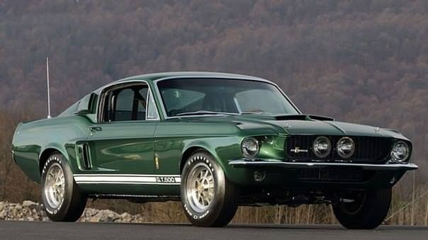 1967 Ford Mustang GT500 428-355 HP Sports Coupe