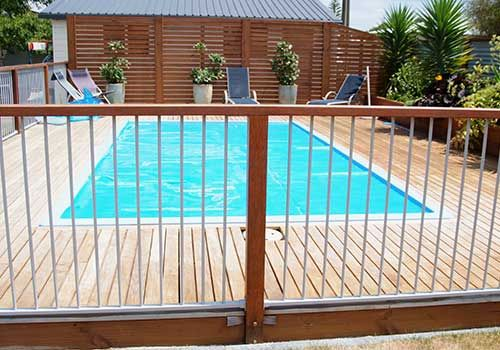 We provide you exclusive ranges of pool gates and also ensure you that you have to choose a design to suit your specific needs.
