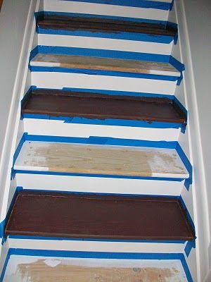 the answer to how do you paint the steps and still get upstairs