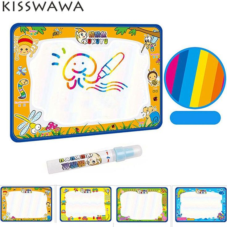 50x34cm Water Drawing Play Mat Baby Kids Add Water with Magic Pen Doodle Painting Picture  in Drawing Toys Board Gift Christmas #>=#>=#>=#>=#> Click on the pin to check out discount price, color, size, shipping, etc. Save and like it!