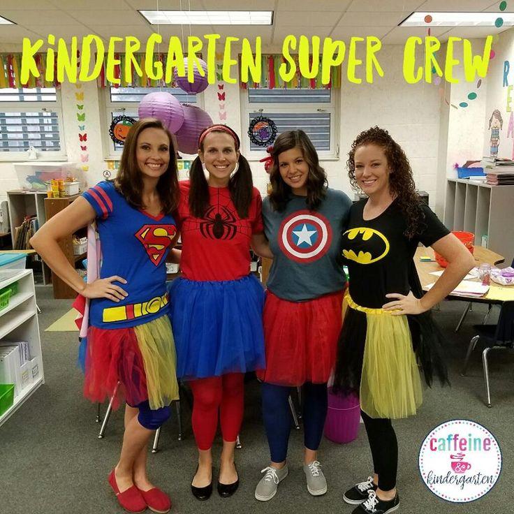 teacher halloween superhero costumes