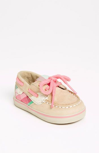 Not at all necessary, but absolutely adorable ;)   Sperry Top-Sider® 'Bluefish' Crib Shoe (Baby) | Nordstrom