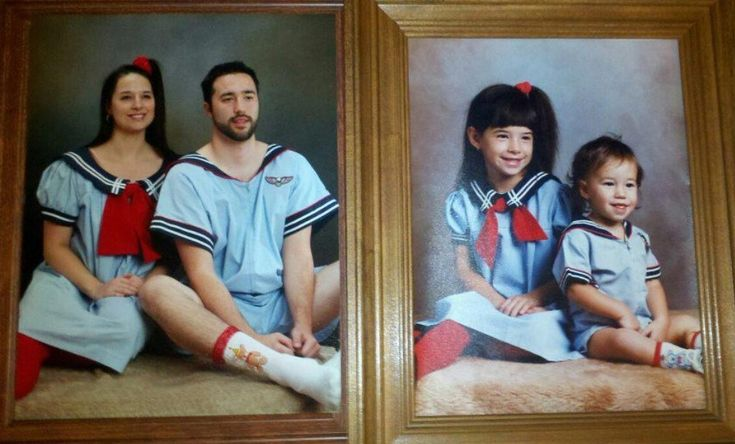 Siblings Who Hilariously Recreated Their Childhood Photos ...