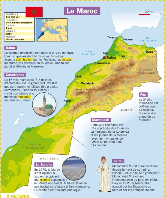 Fiche exposés : Le Maroc                                                                                                                                                                                 Plus