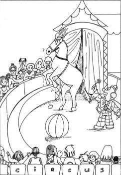 circus horse coloring pages - 55 best images about innosti on pinterest toilets